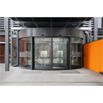 revolving door, ktc2 automatic wall-hosted