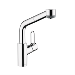 Talis Single lever kitchen mixer 280 Loop with pull-out spray 04703005