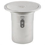 BCO-140 - Floor Cleanout with Round Top, Pull Nipple