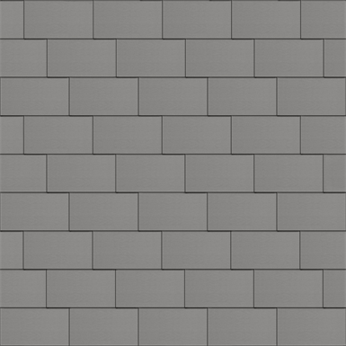 bardeaux facade (500 mm x 1000 mm, horizontal, artcolor skygrey)