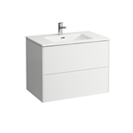 LAUFEN PRO S Combination of washbasin with vanity unit 800 mm