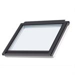 fenêtre de toit fixe pour verrières planes (à coupler avec ggl/ggu, gpl/gpu), finition bois (gil)