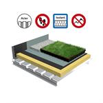 systèmes pour toiture terrasse isolation bac acier plein
