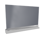 wall sandwich panels 2 steel facings mineral wool core v installation