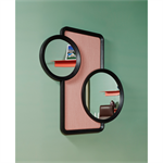 oculus – decorative mirror with acoustic proprety