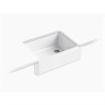 """whitehaven® 29-11/16"""" x 21-9/16"""" x 9-5/8"""" undermount single-bowl farmhouse kitchen sink"""
