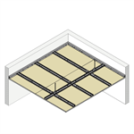 4.4.3 CEILINGS - Suspended twin frame T-60 (H)