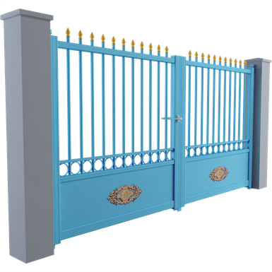 tradition line - ennery swinging gate model