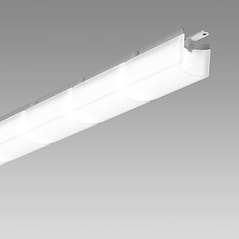 wiggle led ext ceiling and wall 3000k l3000 mm
