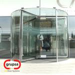 Puerta Giratoria RS-Krystal (4 hojas)