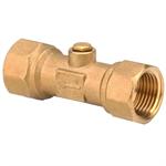 DZR Brass Double Check Valve WRAS 36366, 36367, 36368, 36369, 36370, 36371