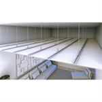 F530 Continuous suspended ceiling 400-2ST12,5-BR-CR2