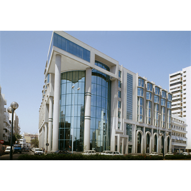 curtain wall - kadrille aa110 65mm dual color