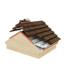 TECTUM PRO system insulation T320 100mm for Gredos/Teide/Guadarrama rooftile