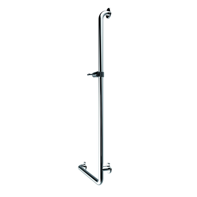 Inox Care Grab rail with shower 500x1200, right