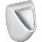 eurovit urinal 360x335mm, back inlet