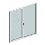 STRUGAL S74RP Window (One-Leaf + Fixed-Leaf)