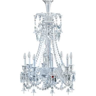 Zenith Chandelier 8L Long