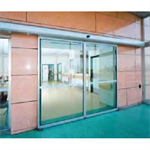 Automatic door - Bi-parting sliding without fixed leaves, full framed