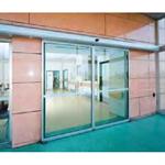 Porte automatique - Porte coulissante à double vantail A20-4 sans panneau fixe