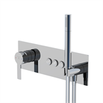 """pushtronic concealed single lever ¾"""" with 3-way diverter 390 2232"""