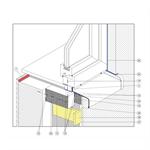 triotherm+ system - hinterlüftete fassade
