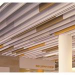 lmd-l 601 | metal baffle ceiling, suspended
