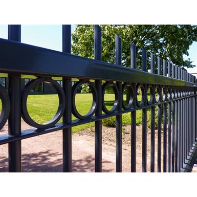 Jumila clôture à barreaux