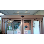 Entrematic EM EMSW Swing Door Operator - Double Doors - Push