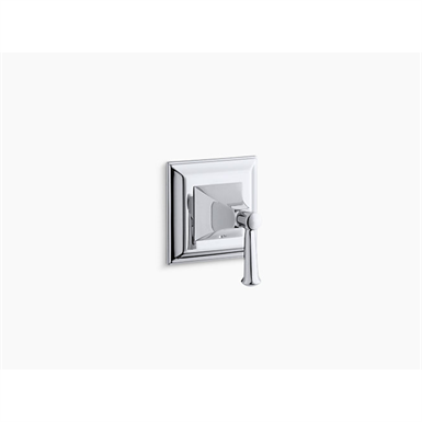 Memoirs® Stately valve trim with lever handle for volume control valve, requires valve