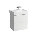 KARTELL BY LAUFEN Vanity unit for 810355, 2 drawers, incl. drawer organiser, matches washbasin 810335