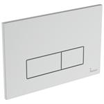oleas m2 flush plate dual white