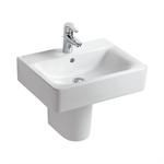 concept cube 55cm washbasin, pedestal or furniture 1 taphole