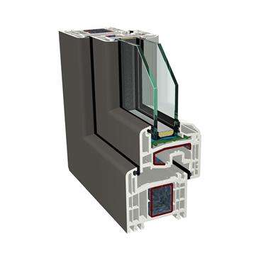 Fixed window GEALAN S8000