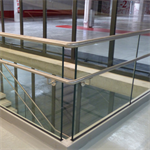 007010 - sabco railing floor mounting