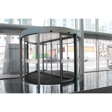 revolving door, ktc2 automatic curtain-panel