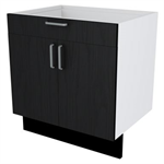 60-70 Cabinet with Waste/sink