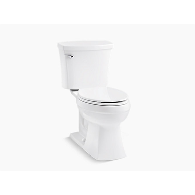 Elliston® Comfort Height® The Complete Solution® two-piece elongated 1.28 gpf chair height toilet with seat