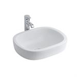 jasper morrison vessel washbasin, 50cm no taphole