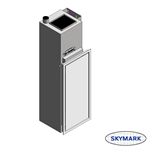 VPCS SKYMARK Vertical Stacked, Water Source Heat Pump (WSHP)