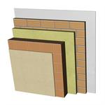 FC05-B2-b Double skin clay block façade. RC+BC19+AT+LH7+ENL