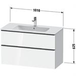 d-neo waschtischunterbau wandhängend de4363