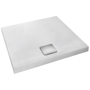 odeon up - square floorstanding or inset shower tray