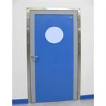 sp 130 - 1 vantail porte hydrofuge en polyéthylène