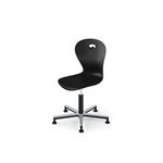 Chair Karoline gas Alu medium sh 38-50 cm with sliding foot