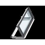 velux wohn-und ausstiegsfenster gxu mit türfunktion