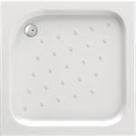 Corner square shower tray 90 cm