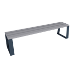 synergie backless bench