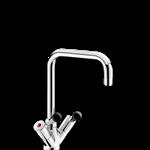 5640t2 zweigriffmischer für einloch-standmontage - 45 l/min