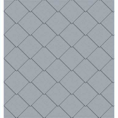 quadratraute fassade (325 mm x 325 mm, prepatina blaugrau)